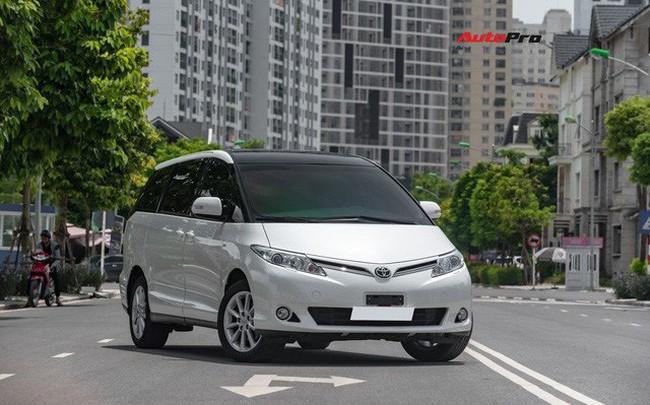 Cận cảnh Toyota Previa 2019 nhập khẩu Trung Đông giá gần 3 tỷ đồng đầu tiên tại Việt Nam - ảnh 1