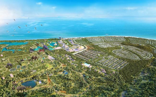 """""""Thế lực"""" nào đứng sau doanh nghiệp vừa thành lập 1 tháng có vốn 4.000 tỷ đã đề xuất đầu tư dự án Safari hơn 500ha tại Vũng Tàu, """"đấu"""" với Novaland và FLC?"""