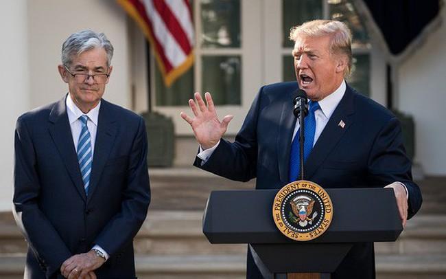"""Gọi FED là đồ cứng đầu, ông Trump gây áp lực để lãi suất về 0 hoặc """"thấp hơn nữa"""""""