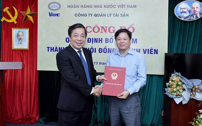 Chủ tịch Nhà máy in tiền Quốc gia sang làm thành viên Hội đồng thành viên VAMC - ảnh 1