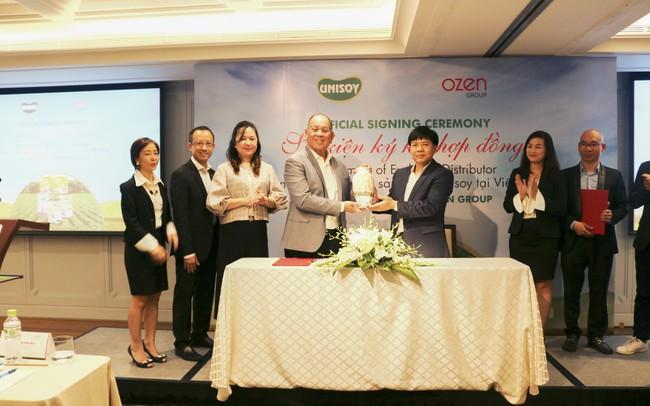Sau Soya Garden và Mr Bean, Shark Thuỷ đưa thương hiệu sữa bột đậu nành hữu cơ Unisoy hàng đầu Singapore vào Việt Nam - ảnh 1
