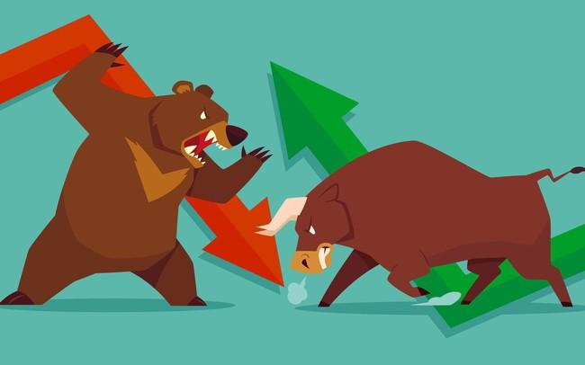 Bán mạnh cổ phiếu ngân hàng, Bluechips trong ít phút cuối phiên, VN-Index đảo chiều giảm gần 5 điểm