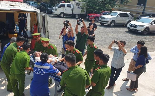 Xét xử vụ VN Pharma: Bị cáo Phạm Văn Thông bất ngờ phải đi cấp cứu