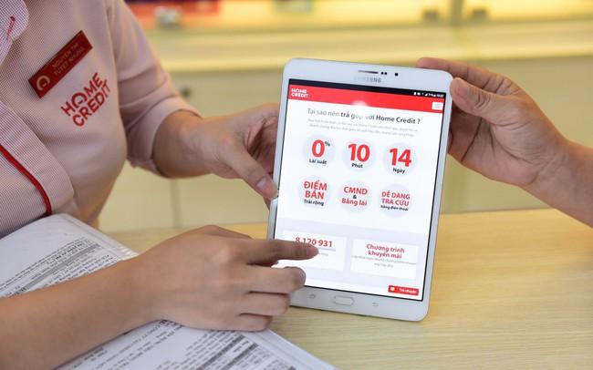E-Signing, Shopping card và con đường cạnh tranh bằng công nghệ của Home Credit