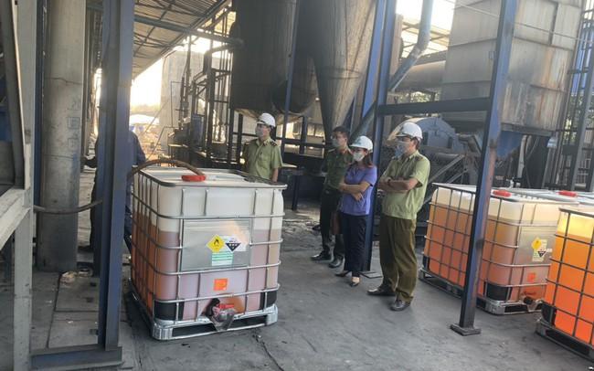 Tiêu huỷ hơn 11.000 lít xăng kém chất lượng