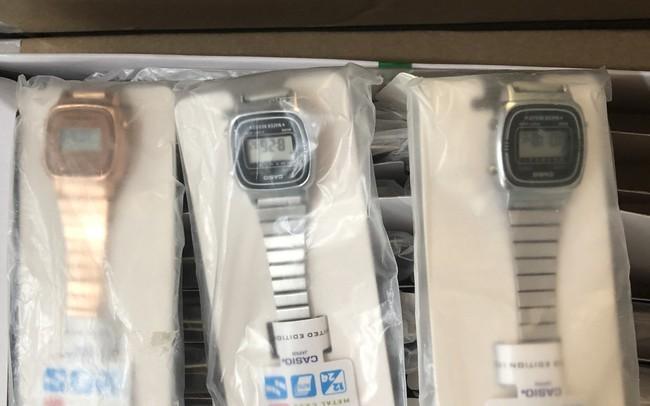 Thu giữ 400 đồng hồ điện tử đeo tay nữ có dấu hiệu giả mạo nhãn hiệu CASIO