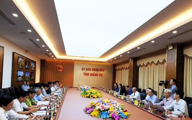 Doanh nghiệp Nga khảo sát địa điểm làm nhà máy nhiệt điện khí công suất 340 MW tại Quảng Trị