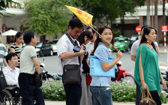 Khách du lịch Trung Quốc tăng nhẹ, nhưng kém xa khách đến từ Thái, Hàn, Nhật