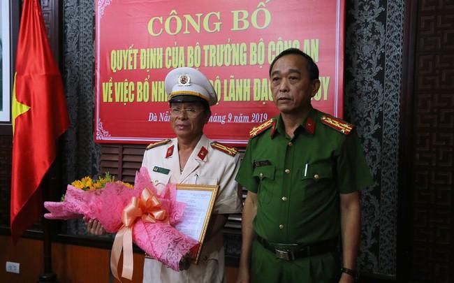 Công bố quyết định nhân sự của Bộ trưởng Công an tại Đà Nẵng - ảnh 1