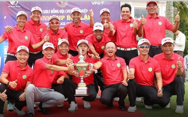 Ngăn đối thủ lội ngược dòng, tuyển golf miền Nam xuất sắc vô địch, ẵm 300 triệu đồng tại Cúp Độc lập 2019 lần đầu tổ chức tại Việt Nam