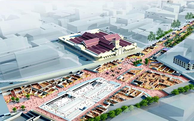 TP.HCM sắp xây trung tâm thương mại ngầm Bến Thành
