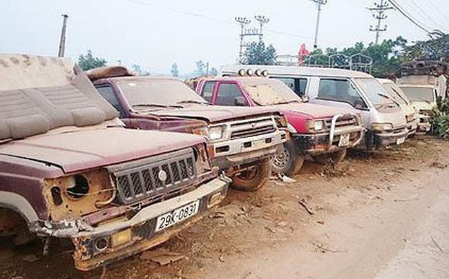 Gần 20.000 ô tô cũ nát không được lưu thông từ 1/1/2019