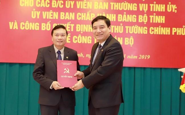 Thủ tướng phê chuẩn chức vụ Phó Chủ tịch UBND tỉnh Nghệ An