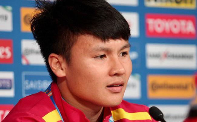 """Quang Hải: """"Quên Thường Châu đi, tuyển Việt Nam phải thích nghi với đẳng cấp ở Asian Cup"""""""