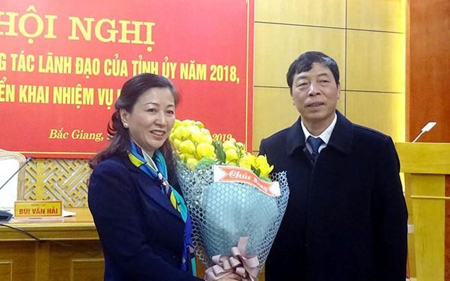 Bắc Giang có nữ Phó Bí thư Thường trực Tỉnh ủy