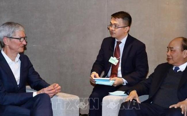 Thủ tướng ủng hộ xây dựng trung tâm dữ liệu Apple tại Việt Nam