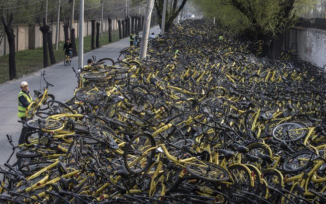 Sự trỗi dậy và sụp đổ của hàng loạt 'đế chế' cho thuê xe đạp tại Trung Quốc