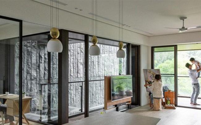 Ngôi nhà mang phong cách mở có 3 thế hệ sống chung - ảnh 1