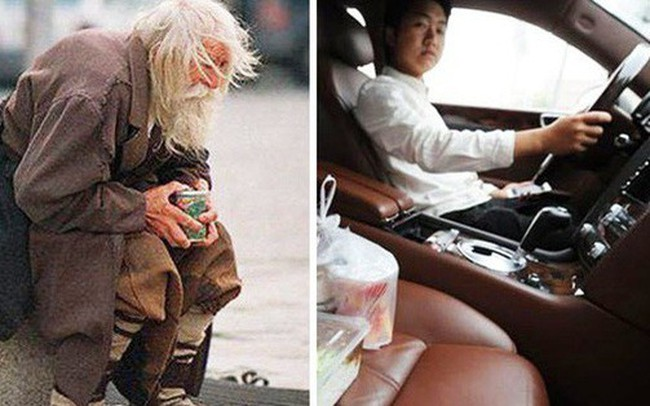 Chứng kiến ông lão va vào xe mình, ông bố hành động bất ngờ và bài học dạy con đắt giá