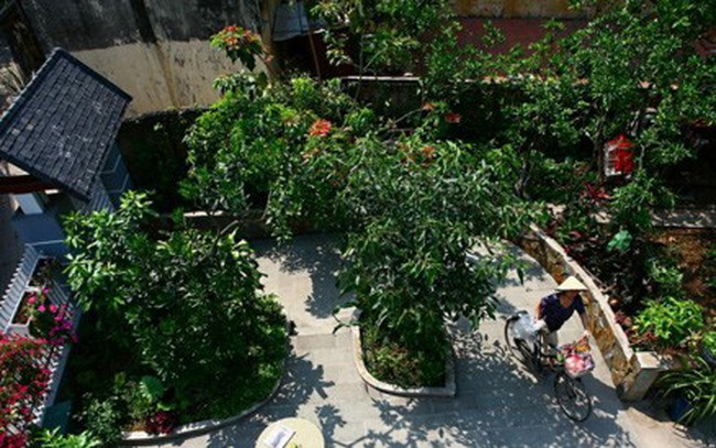 Nhà 3 tầng xinh xắn giữa ngôi làng cổ ở Hà Nội