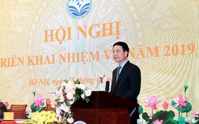 Bộ trưởng Nguyễn Mạnh Hùng: Năm 2019, phải thực hiện quy hoạch báo chí - ảnh 1