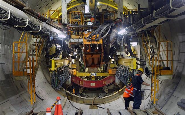 """Robot đào hầm đường sắt Nhổn-Ga Hà Nội sẽ """"trình làng"""" vào tháng 7-2019"""