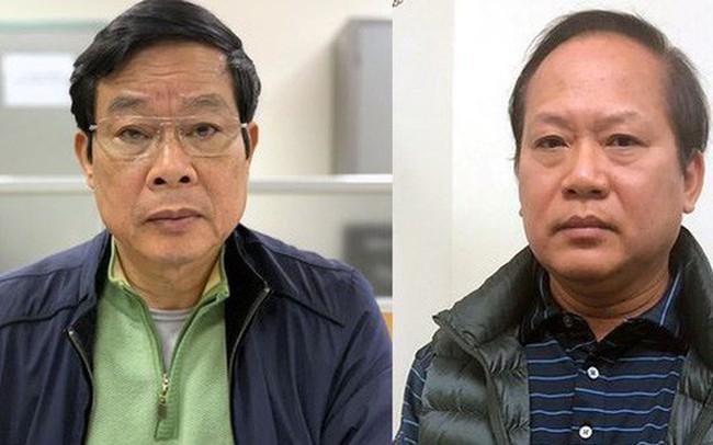 Sự nghiệp của hai cựu Bộ trưởng Nguyễn Bắc Son, Trương Minh Tuấn vừa bị bắt giam