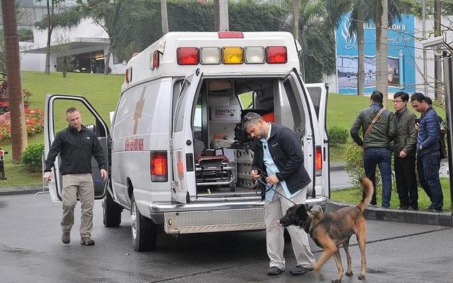 Mật vụ Mỹ siết chặt an ninh quanh khách sạn Marriott