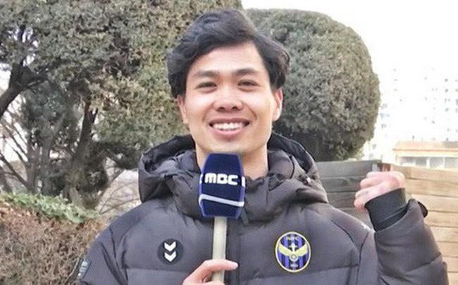 Công Phượng dự báo thời tiết ngày tổ chức thượng đỉnh Mỹ - Triều trên sóng truyền hình Hàn Quốc