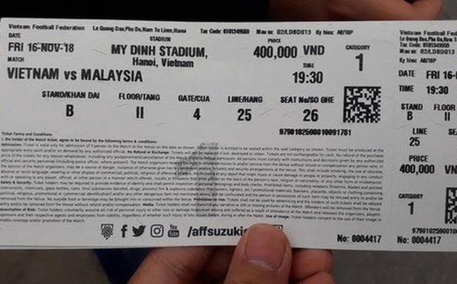 Vé xem đại chiến U23 Việt Nam - U23 Thái Lan ngày 26/3 sớm hết vị trí đẹp