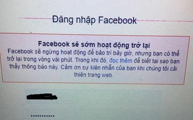 Facebook vẫn đang lỗi, người dùng không thể đăng tin, khó đăng nhập, chính Facebook cũng phải dùng Twitter để thừa nhận đang gặp vấn đề - ảnh 1