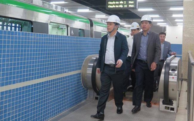 Bộ trưởng GTVT: Người dân rất mong chờ tuyến Cát Linh-Hà Đông sớm khai thác