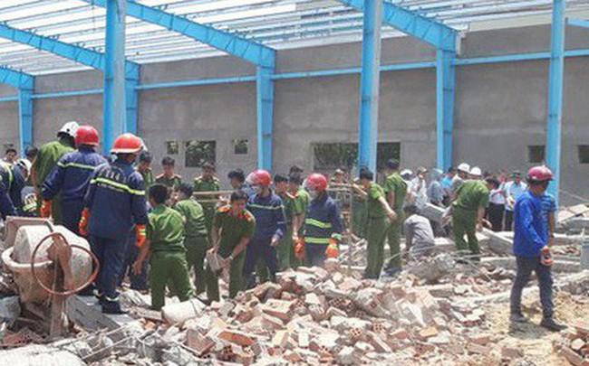 Vụ sập tường làm 8 người thương vong ở Vĩnh Long: Thi công sai kỹ thuật?