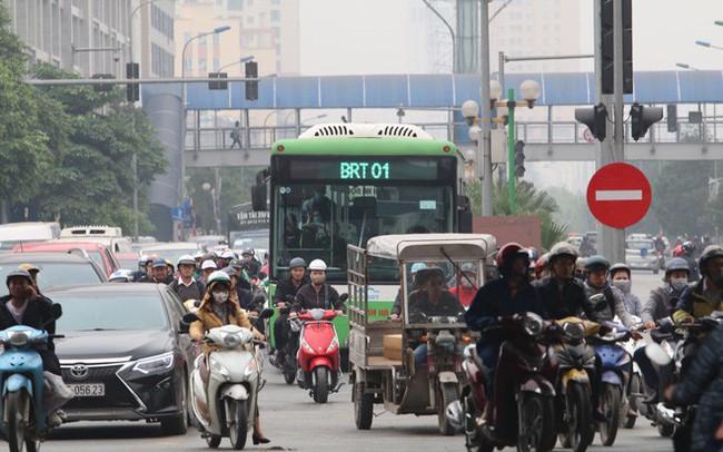 Hà Nội đang hoàn thiện đề án hạn chế xe máy theo giờ tại 6 tuyến phố và 1 khu vực