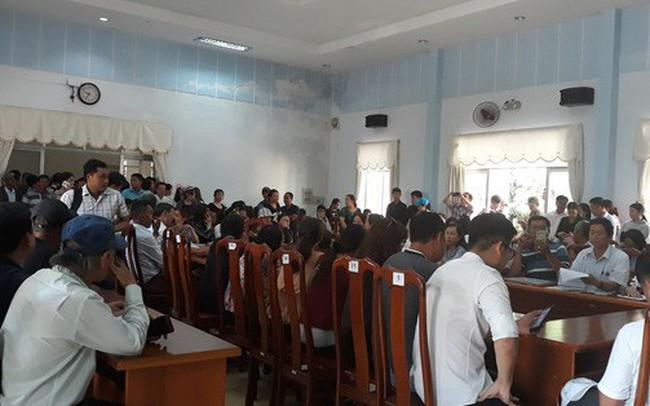 Quảng Nam: Hàng trăm người mua đất kéo đến trụ sở tiếp dân nhờ can thiệp đòi sổ đỏ