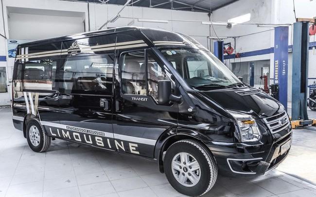 Đại lý chào bán Ford Transit 'chuyên cơ mặt đất' giá bạc tỷ tại Việt Nam