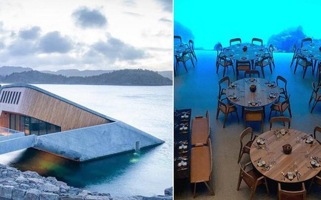 Nhà hàng dưới nước đầu tiên tại châu Âu gây sốt trên toàn thế giới: Đầu tháng 4 mới khai trương nhưng đã kín lịch đặt chỗ đến tận tháng 9