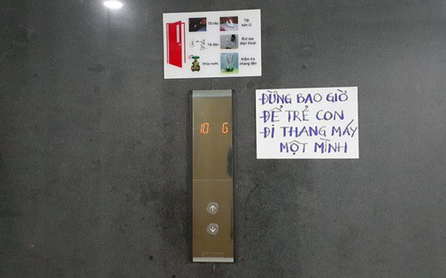 Sau vụ nguyên Viện phó VKS sàm sỡ bé gái, hàng loạt chung cư ở TP.HCM dán cảnh báo, nhắc nhau bảo vệ con
