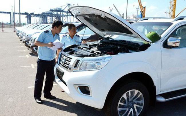 Ô tô và dầu thô giúp thu ngân sách ngành hải quan tăng đột biến