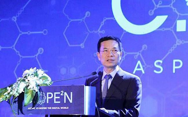 """Bộ trưởng Nguyễn Mạnh Hùng: """"Muốn trở thành doanh nghiệp công nghệ toàn cầu, đầu tiên phải có giấc mơ lớn"""""""
