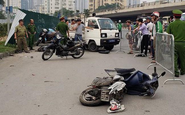 Danh tính nữ tài xế lái xe Mercedes vượt đèn đỏ đâm hàng loạt xe máy khiến nhiều người bị thương ở Hà Nội