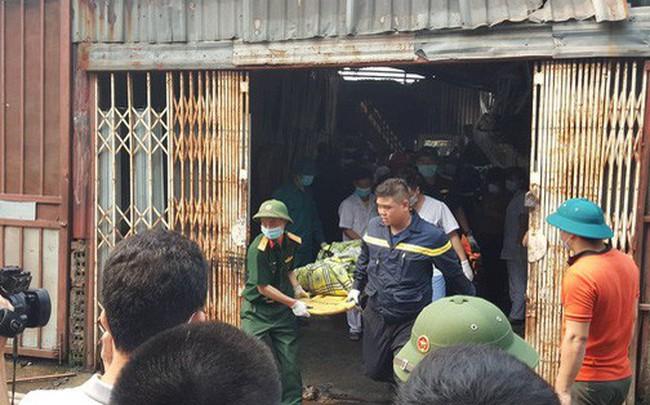 Khởi tố vụ cháy xưởng sản xuất thùng rác làm 8 người chết ở Trung Văn, Hà Nội - ảnh 1