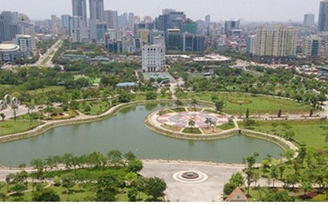 Xén công viên Cầu Giấy làm bãi đỗ xe ngầm: Phó Thủ tướng yêu cầu Hà Nội báo cáo - ảnh 1