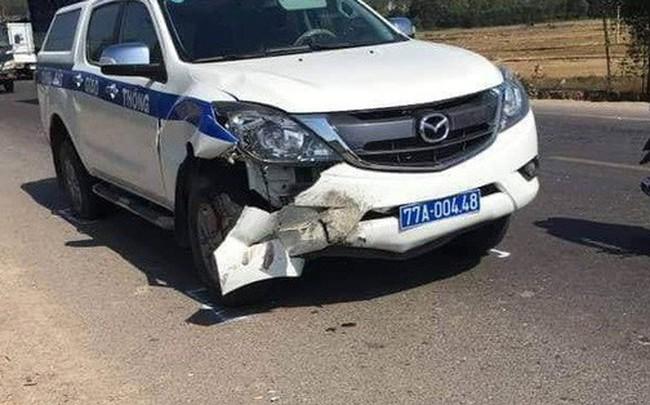 Xe CSGT Bình Định gây tai nạn chết người khi đi tuần tra