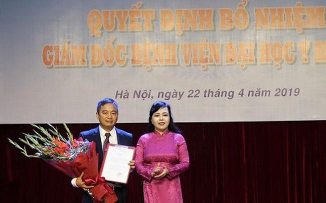 Bệnh viện Đại học Y Hà Nội có giám đốc mới