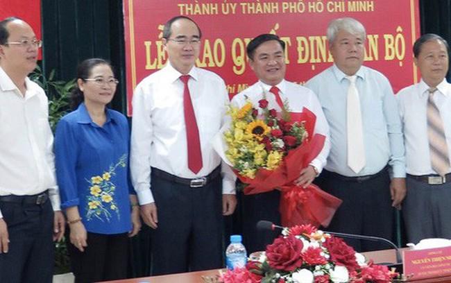 Ông Trần Trọng Tuấn giữ chức Bí thư Quận ủy quận 3