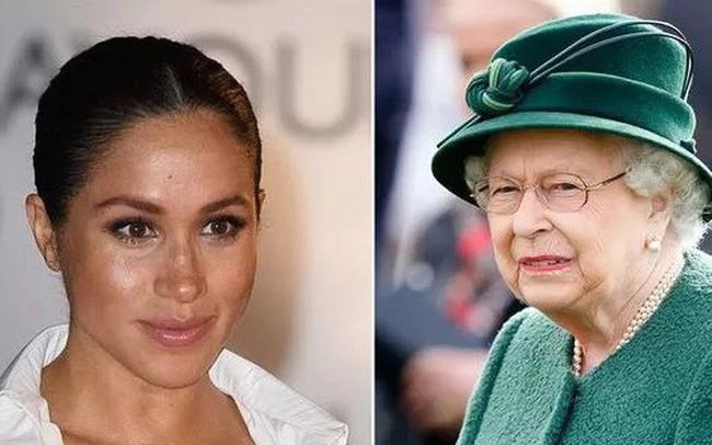 Tiết lộ mới gây sốc: Meghan lần đầu bị Nữ hoàng Anh khiển trách và phải dạy dỗ vì điều này