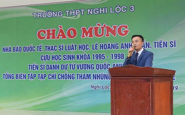 """Người xưng """"nhà báo quốc tế"""" từng ứng cử Đại biểu Quốc hội tại Hà Tĩnh"""