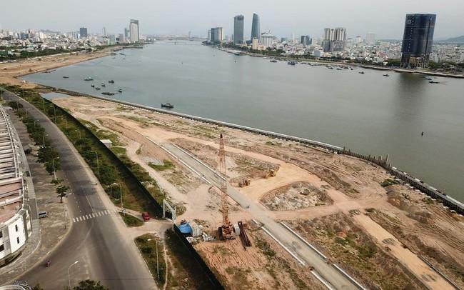 Tranh luận gay gắt các dự án lấn sông Hàn