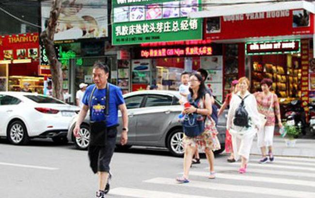 Du khách Trung Quốc sụt giảm bất thường